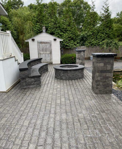 stamp concrete installer